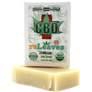 reLeaves CBD Bar Soap