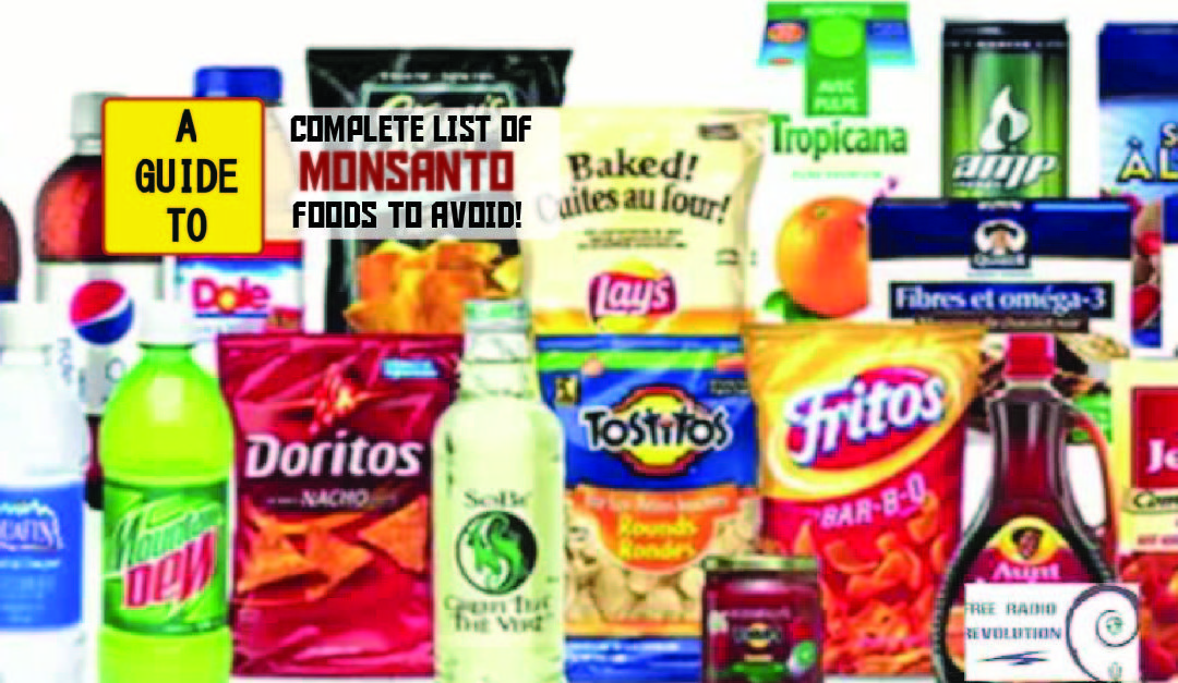 Food Brands Owned By Monsanto