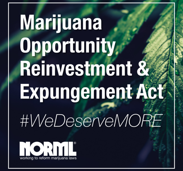 Historic: A Bill to End Marijuana Prohibition Just Passed