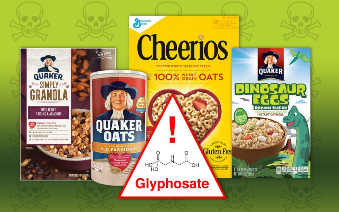 Cancer Linked Monsanto Chemical Discovered In ALL Tested Children's Foods Made From Oats