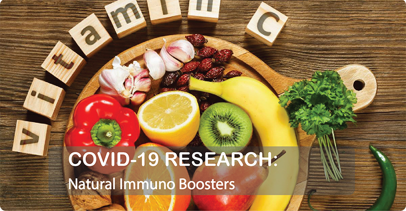 COVID-19 Research: Natural Auto-Immuno Boosters