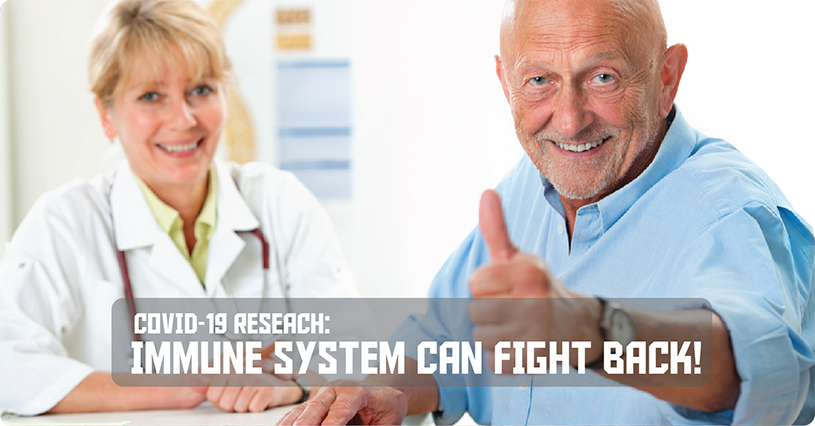 New COVID-19 Research: The Immune System Can Fight Back