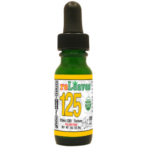 0.5oz reLeaves 125mg CBD Full Spectrum Tincture