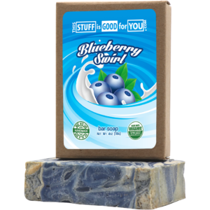 Blueberry Swirl Bar Soap