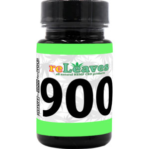 reLeaves 900mg CBD Full Spectrum (30x30mg) Capsules
