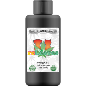 4oz reLeaves 40mg CBD Pet Shampoo