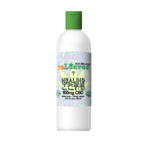 12oz reLeaves 100mg CBD Healing Tree Shampoo Body Wash