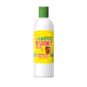 12oz reLeaves 100mg CBD Me So Honey Shampoo Body Wash