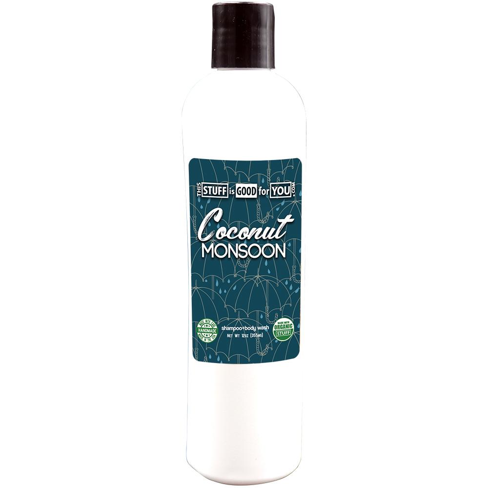12oz Coconut Monsoon Shampoo Body Wash