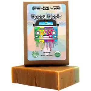 Happy Hippy Patchouli & Hemp Bar Soap