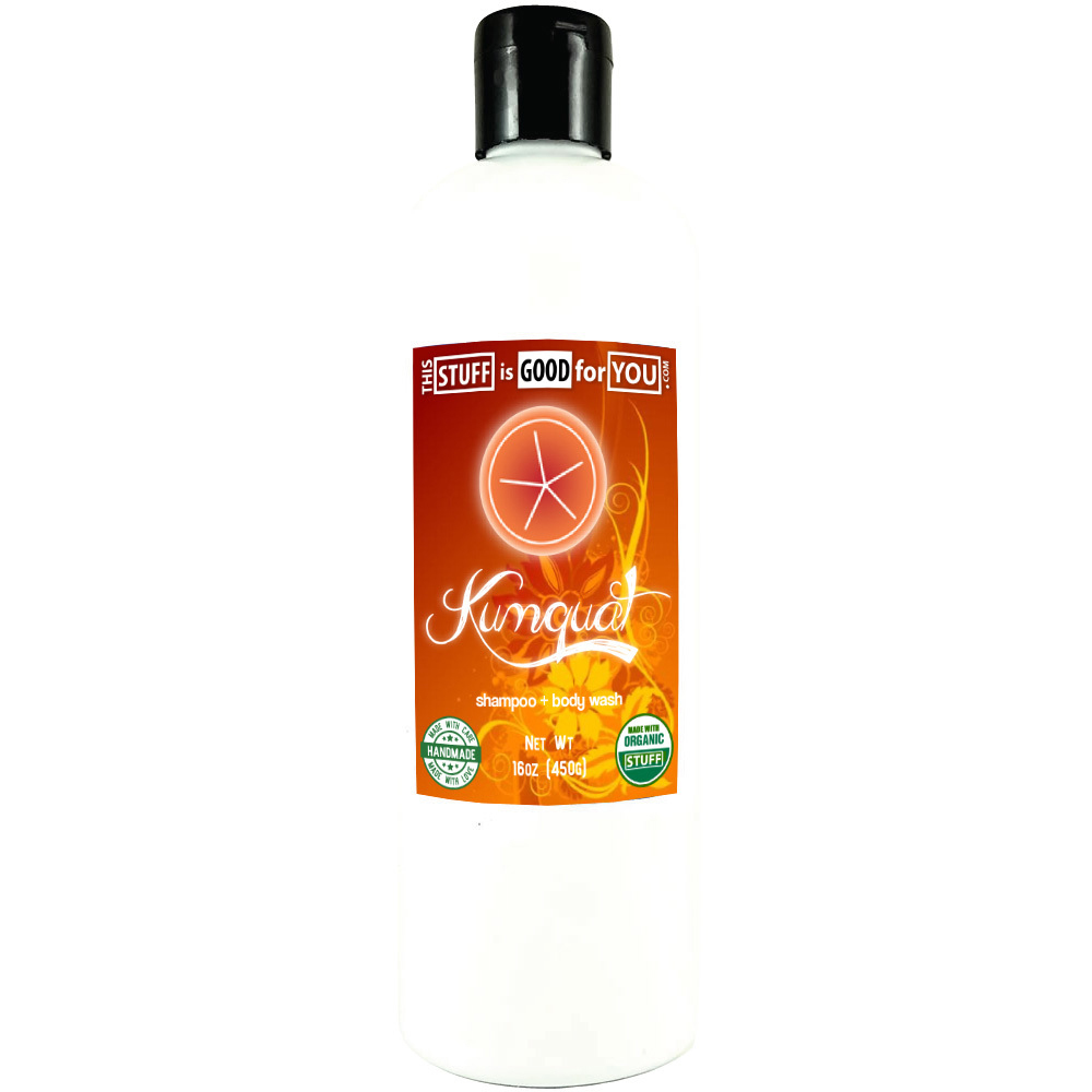 12oz Kumquat Shampoo Body Wash