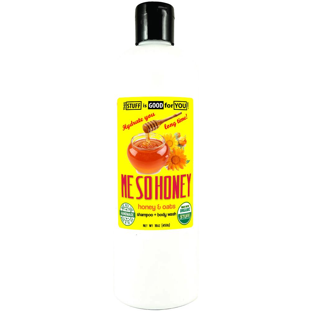 12oz Me So Honey & Oats Shampoo Body Wash