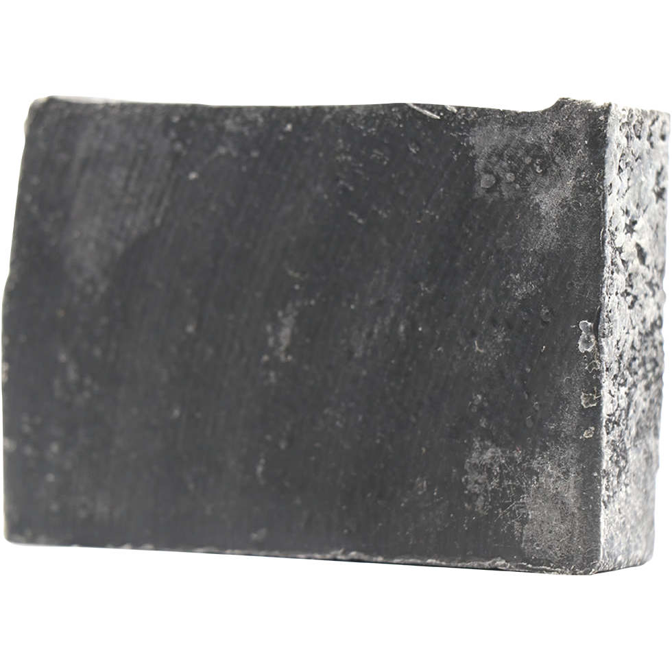 Once You Go Black Activated Charcoal Peppermint & Tea Tree Bar Soap