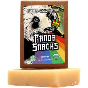Panda Snacks Bar Soap