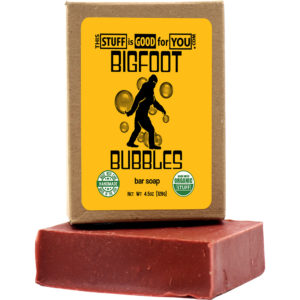 Bigfoot Bubbles Bar Soap