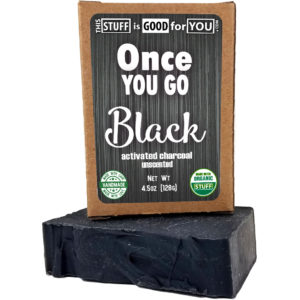Once You Go Black Unscented Activated Charcoal Bar Soap
