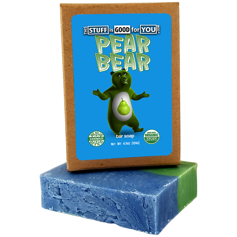 Pear Bear Bar Soap