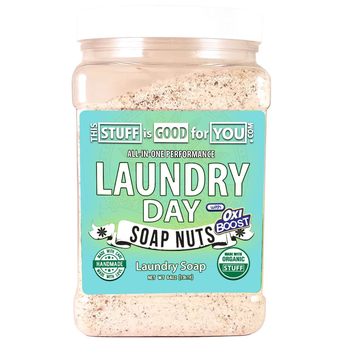 64oz Laundry Day  Soap Nuts All-Performance Laundry Soap