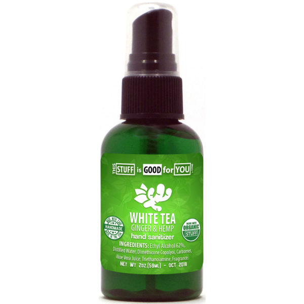 White Ginger Hemp Hand Sanitizer